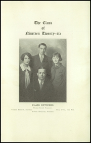 Page 13, 1926 Edition, Rayen School - Rayen Yearbook (Youngstown, OH) online yearbook collection