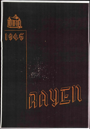 Page 1, 1945 Edition, Rayen School - Rayen Yearbook (Youngstown, OH) online yearbook collection