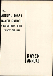 Page 7, 1945 Edition, Rayen School - Rayen Yearbook (Youngstown, OH) online yearbook collection