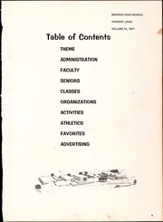 Page 7, 1971 Edition, Warren High School - Shield Yearbook (Vincent, OH) online yearbook collection
