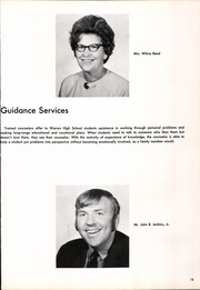 Page 17, 1972 Edition, Warren High School - Shield Yearbook (Vincent, OH) online yearbook collection