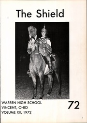Page 5, 1972 Edition, Warren High School - Shield Yearbook (Vincent, OH) online yearbook collection