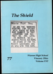 Page 5, 1977 Edition, Warren High School - Shield Yearbook (Vincent, OH) online yearbook collection