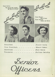 Page 11, 1949 Edition, Brooklyn High School - Eaglet Yearbook (Brooklyn, OH) online yearbook collection