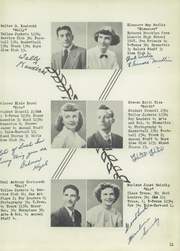 Page 15, 1949 Edition, Brooklyn High School - Eaglet Yearbook (Brooklyn, OH) online yearbook collection
