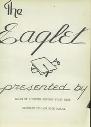 Page 5, 1949 Edition, Brooklyn High School - Eaglet Yearbook (Brooklyn, OH) online yearbook collection