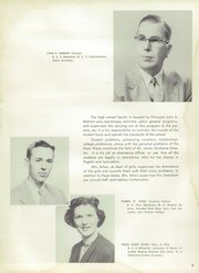 Page 13, 1955 Edition, Brooklyn High School - Eaglet Yearbook (Brooklyn, OH) online yearbook collection