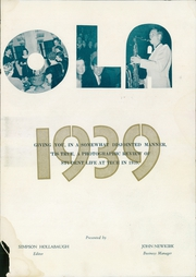 Page 7, 1939 Edition, Arkansas Tech University - Agricola Yearbook (Russellville, AR) online yearbook collection