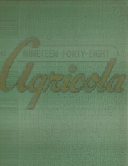 1948 Edition, Arkansas Tech University - Agricola Yearbook (Russellville, AR)