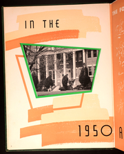 Page 8, 1950 Edition, Arkansas Tech University - Agricola Yearbook (Russellville, AR) online yearbook collection