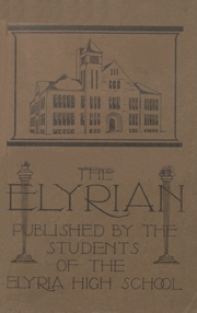 1913 Edition, Elyria Public High School - Elyrian Yearbook (Elyria, OH)