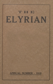 1918 Edition, Elyria Public High School - Elyrian Yearbook (Elyria, OH)