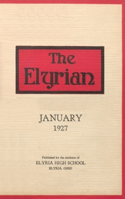 1927 Edition, Elyria Public High School - Elyrian Yearbook (Elyria, OH)