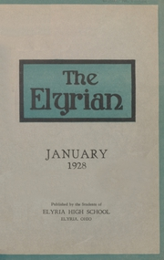 1928 Edition, Elyria Public High School - Elyrian Yearbook (Elyria, OH)