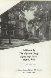 Page 7, 1941 Edition, Elyria Public High School - Elyrian Yearbook (Elyria, OH) online yearbook collection