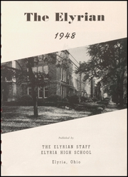 Page 5, 1948 Edition, Elyria Public High School - Elyrian Yearbook (Elyria, OH) online yearbook collection