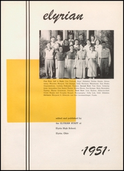 Page 5, 1951 Edition, Elyria Public High School - Elyrian Yearbook (Elyria, OH) online yearbook collection