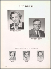 Page 12, 1956 Edition, Elyria Public High School - Elyrian Yearbook (Elyria, OH) online yearbook collection