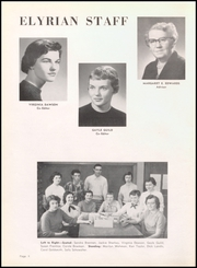 Page 8, 1956 Edition, Elyria Public High School - Elyrian Yearbook (Elyria, OH) online yearbook collection