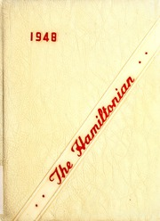Page 1, 1948 Edition, Hamilton Township High School - Hamiltonian Yearbook (Columbus, OH) online yearbook collection