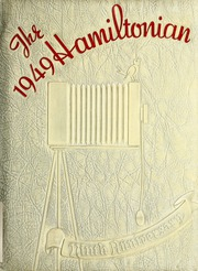1949 Edition, Hamilton Township High School - Hamiltonian Yearbook (Columbus, OH)