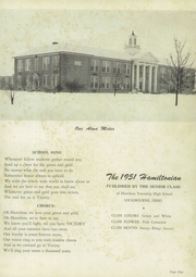 Page 5, 1951 Edition, Hamilton Township High School - Hamiltonian Yearbook (Columbus, OH) online yearbook collection
