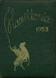 Hamilton Township High School - Hamiltonian Yearbook (Columbus, OH) online yearbook collection, 1953 Edition, Page 1
