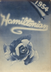 Hamilton Township High School - Hamiltonian Yearbook (Columbus, OH) online yearbook collection, 1954 Edition, Page 1