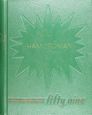 Hamilton Township High School - Hamiltonian Yearbook (Columbus, OH) online yearbook collection, 1959 Edition, Page 1