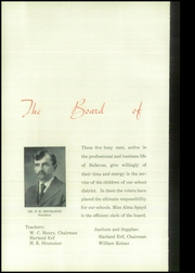 Page 12, 1935 Edition, Bellevue High School - Comet Yearbook (Bellevue, OH) online yearbook collection