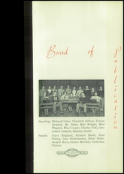 Page 9, 1935 Edition, Bellevue High School - Comet Yearbook (Bellevue, OH) online yearbook collection