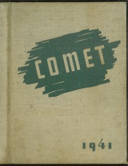 1941 Edition, Bellevue High School - Comet Yearbook (Bellevue, OH)