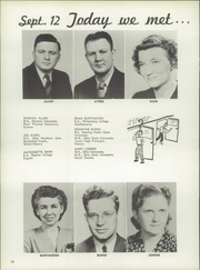 Page 14, 1950 Edition, Bellevue High School - Comet Yearbook (Bellevue, OH) online yearbook collection