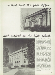 Page 9, 1950 Edition, Bellevue High School - Comet Yearbook (Bellevue, OH) online yearbook collection