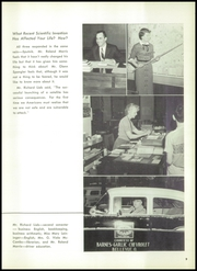 Page 13, 1958 Edition, Bellevue High School - Comet Yearbook (Bellevue, OH) online yearbook collection