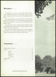 Page 6, 1958 Edition, Bellevue High School - Comet Yearbook (Bellevue, OH) online yearbook collection