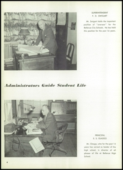 Page 8, 1958 Edition, Bellevue High School - Comet Yearbook (Bellevue, OH) online yearbook collection