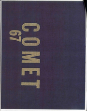 1967 Edition, Bellevue High School - Comet Yearbook (Bellevue, OH)