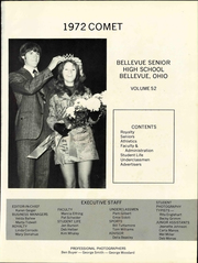 Page 7, 1972 Edition, Bellevue High School - Comet Yearbook (Bellevue, OH) online yearbook collection