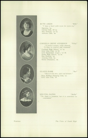 Page 16, 1920 Edition, South High School - Warrior Yearbook (Youngstown, OH) online yearbook collection