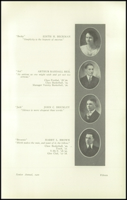 Page 17, 1920 Edition, South High School - Warrior Yearbook (Youngstown, OH) online yearbook collection