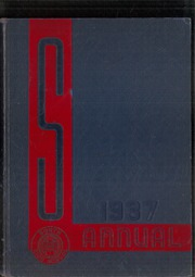 1937 Edition, South High School - Warrior Yearbook (Youngstown, OH)