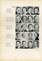 Page 14, 1937 Edition, South High School - Warrior Yearbook (Youngstown, OH) online yearbook collection