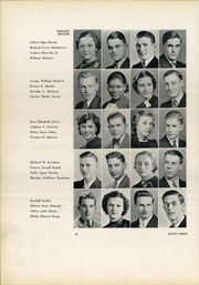 Page 16, 1937 Edition, South High School - Warrior Yearbook (Youngstown, OH) online yearbook collection