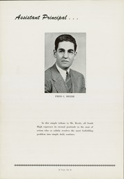 Page 10, 1944 Edition, South High School - Warrior Yearbook (Youngstown, OH) online yearbook collection