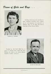 Page 11, 1944 Edition, South High School - Warrior Yearbook (Youngstown, OH) online yearbook collection