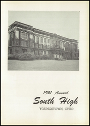 Page 5, 1951 Edition, South High School - Warrior Yearbook (Youngstown, OH) online yearbook collection