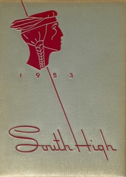 1953 Edition, South High School - Warrior Yearbook (Youngstown, OH)