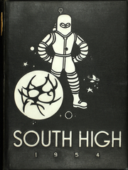 1954 Edition, South High School - Warrior Yearbook (Youngstown, OH)