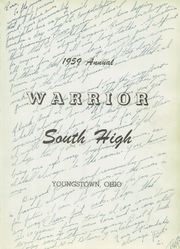 Page 5, 1959 Edition, South High School - Warrior Yearbook (Youngstown, OH) online yearbook collection